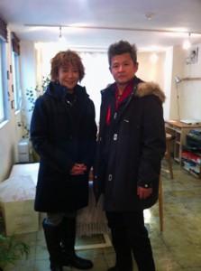 梅浦さんとパートナーの木村さん