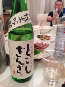 戸越銀座商店街の日本酒